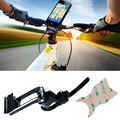 Aluminium Alloy Mobile Phone Holder Motorcycle Bicycle Mount Holder For Cellphone For iPhone 6 6 Plus For Samsung  GB0021