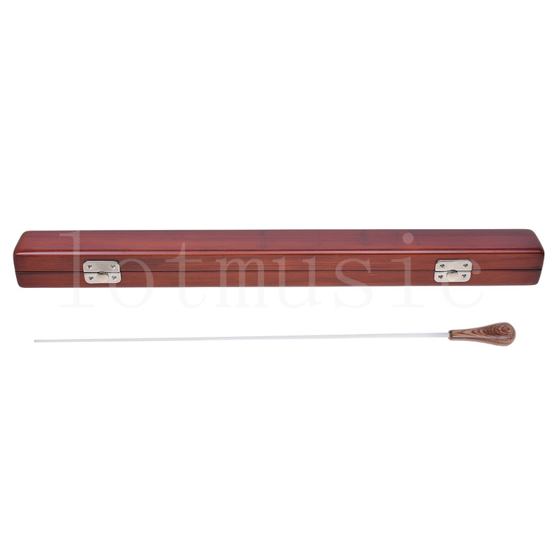 Rhythm Band Music Director Orchestra Conductor Conducting Baton Fiberglass with Wood Case