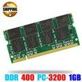 Оперативная память для ноутбука  ОЗУ SO-DIMM PC3200 DDR 400/333мгц 200PIN 1 ГБ/DDR1 DDR400 ПК 3200 400 МГц 200 PIN для ноутбука Sodimm Memoria
