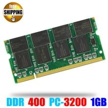 Laptop Ram SO-DIMM de Memoria PC3200 DDR 400/333 MHz 200PIN 1 GB/PC 3200 400 MHz DDR1 DDR400 200 PIN Para Notebook Sodimm memoria