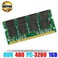 Memoria Ram del computer portatile SO-DIMM PC3200 DDR 400/333 MHz 200PIN 1 GB/DDR1 DDR400 PC 3200 400 MHz 200 PIN Per Notebook Sodimm memoria