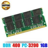 Portátil de Memoria Ram SO-DIMM PC3200 DDR 400/333 MHz 200PIN 1 GB/DDR1 DDR400 PC 3200, 400MHz de 200 PIN Sodimm para Notebook Memoria