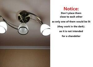 Image 3 - Đèn Ngủ LED E27 3W 5W 7W 9W 12W 220V Đèn LED Bóng Đèn PIR chuyển Động Hồng Ngoại/Âm Thanh + Cảm Biến Ánh Sáng Điều Khiển Tự Động Cơ Thể Phát Hiện