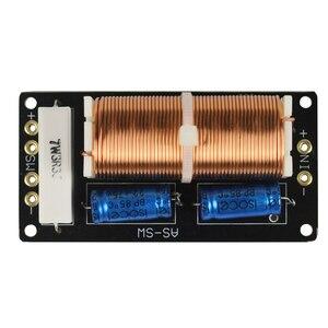 Image 3 - 300W 서브 우퍼 크로스 오버 오디오 스피커 보드 350HZ 1 웨이 패시브 우퍼 라우드 스피커 전용 주파수 분배기 DIY 12dB 2PCS