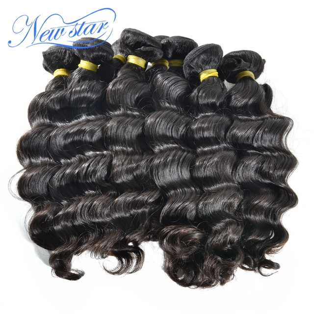 new star wholesale price loose weave more wavy Camboddian virgin hair extensions weft 10bundles/1kg natural color  free shipping