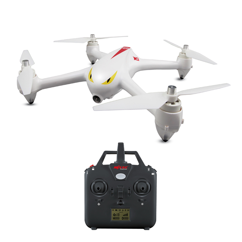MJX B2C B2W RC Quadcopter 2.4G 6-Axis Gyro GPS Brushless Motor RC Drone With WIFI 1080P Camera RC Helicopter mjx b3mini fpv rc quadcopter brushless motor rc drone with wifi camera 2 4g 6 axis rc helicopter acro