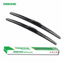 Toocene Windshield Wiper Blade For Hyundai Sonata NF 2007 20 24 Natural Rubber Three Segmental Type