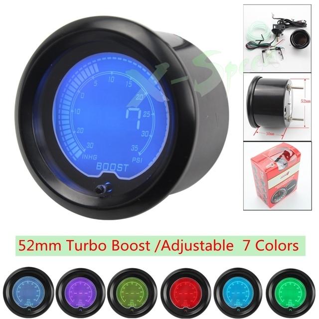 "New 2"" EVO 52mm Psi Turbo Boost Gauge Universal Digital Boost  Auto Gauge Car  Turbo Boost  Turbo gauge Car Meter YC100110"