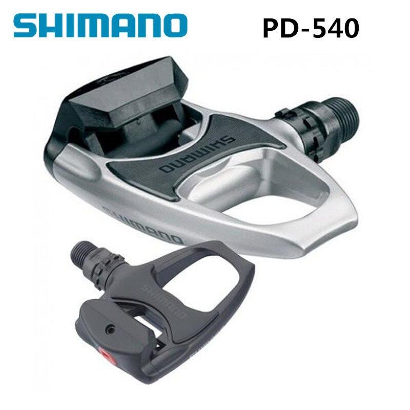 Shimano PD R540 Auto-Verrouillage SPD Pédales Composants En Utilisant pour Vélo de Course Route Vélo Pièces