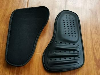 Gorący motocyklowy wyścigowy odzież kuloodporna protector powrót ochrona klatki piersiowej wewnętrzna osłona z miseczkami na piersi wyposażeniem ochronnym tanie i dobre opinie NYLON SUWDT