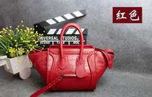 High End Quality  Wax Oil Genuine Leather Tote  Handbag , 2016 fashion Luxury Quality Cowhide Handbag for Successful Women