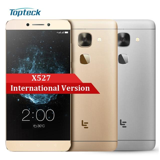 International Version Letv LeEco Le 2 X527 Qualcomm Snapdragon 652 Octa Core 3G+32G Smartphone 16MP 4G Fingerprint Mobile Phone