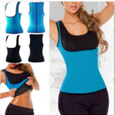 Hot Sports Shirts For Women Neoprene Winter Exercise Body Control Outfit Fitness Running Shaping Tank Top Weight Loss Crop