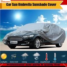 Buildreamen2 Универсальный Автомобильный Чехол Защита от солнца тени Дождь Снег пыль морозостойкий автомобиля-Обложка УФ-anti Защита от солнца пыле