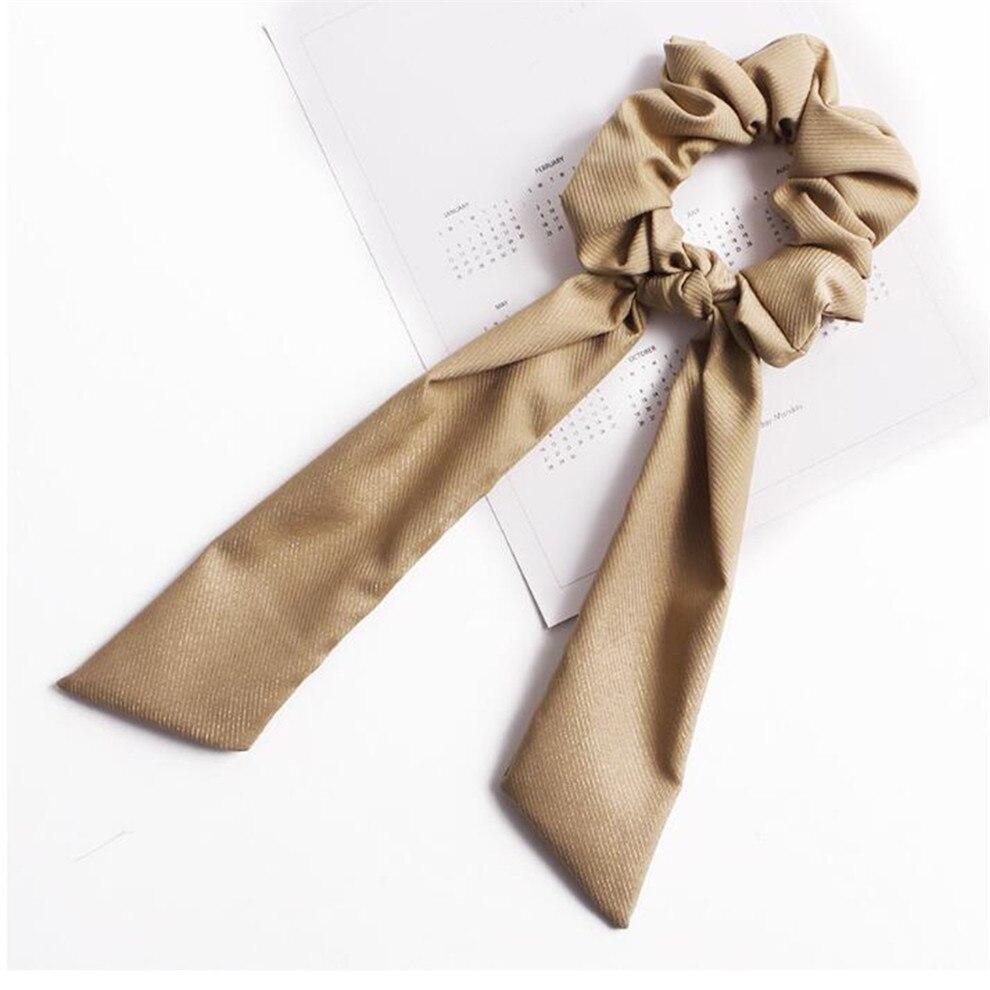 Богемные резинки для волос в горошек с цветочным принтом и бантом, женские эластичные резинки для волос, повязка-шарф, резинки для волос, аксессуары для волос для девочек - Цвет: A9