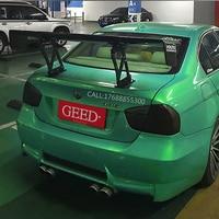 For BWM E90 M3 318i 320i 325i 330i 100% Carbon Fiber Universal Rear Wing Spoiler GT Style