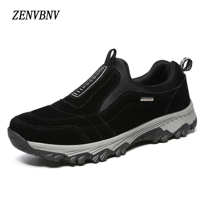 ZENVBNV novi visokokakovostni čevlji na prostem dihanje udobje - Moški čevlji