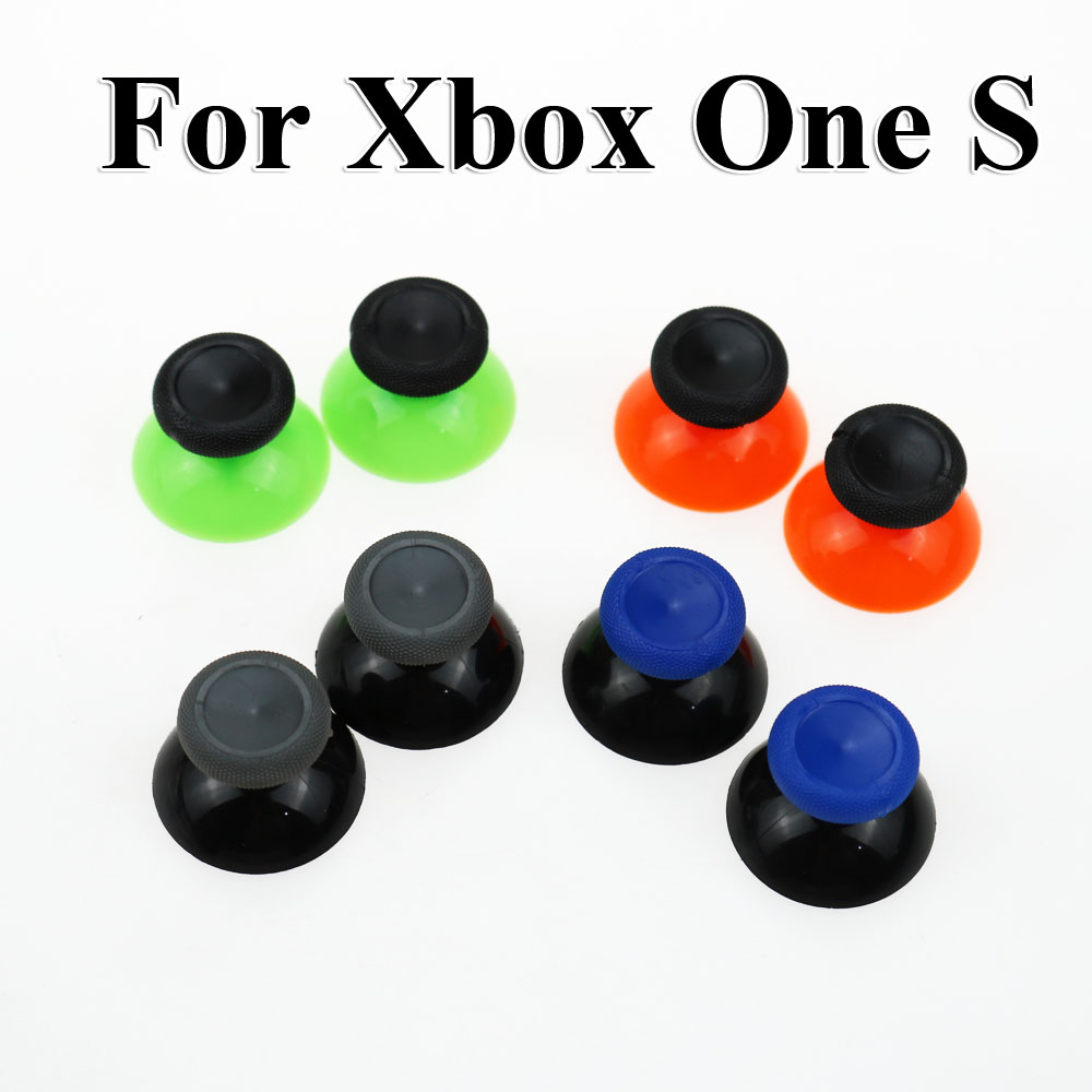 Chenghaoran 1Pair2PCS For XBOX ONE Elite Controller Analog 3D Joystick Cap Thumbstick Button Caps For XBOX ONE S Replacement