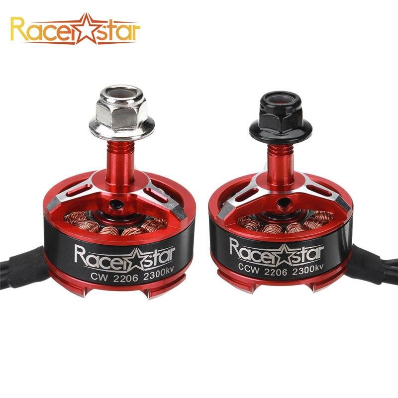 5 pcs Racerstar SPROG X 2206 2300KV 3-4S moteur Brushless pour Sprog débutant Drone RC FPV course pièce de rechange cadre pièces Accs