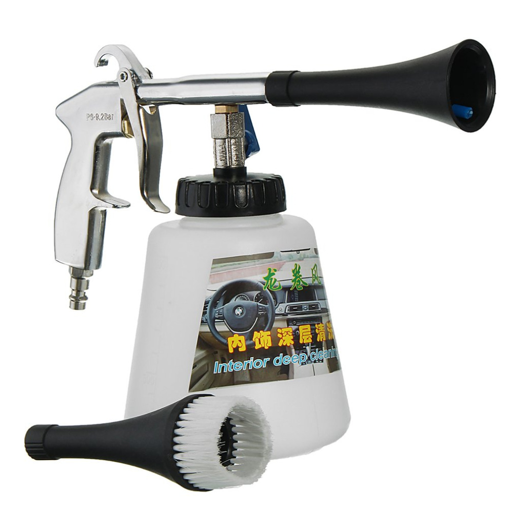 High Pressure Air Pulse font b Car b font Cleaning Gun with Brush Multifunctional Surface font