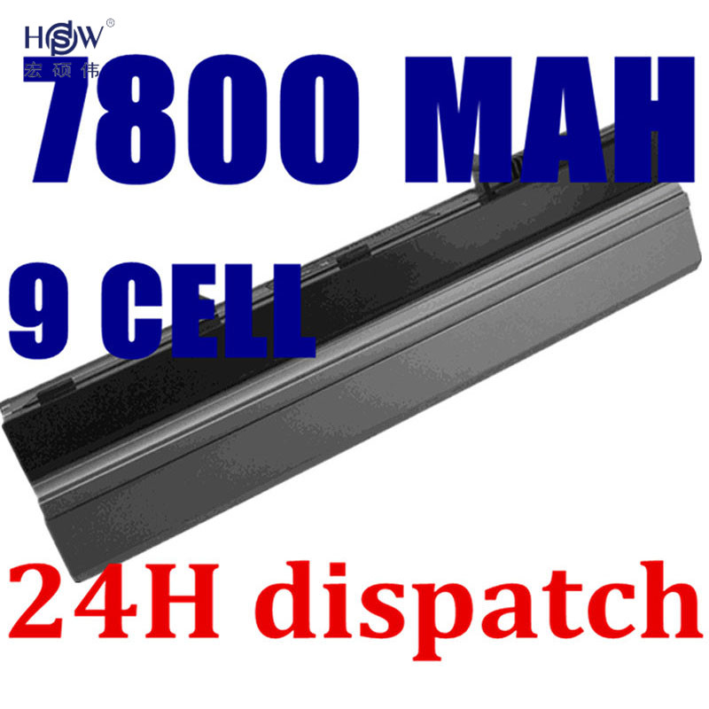 HSW 7800mAh Laptop Battery For dell Latitude E4300 E4310 0FX8X 312-0822 312-0823 312-9955 451-10636 451-10638 451-11459 golooloo battery for dell inspiron 1525 1526 1545 1546 312 0626 312 0634 312 0633 312 0763 312 0844 451 10534 c601h cr693