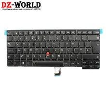 Neue original für thinkpad t440 t440s t431s t440p t450 t450s t460 hintergrundbeleuchtete tastatur uk englisch hintergrundbeleuchtung 04×0168 04×0130 0c43973