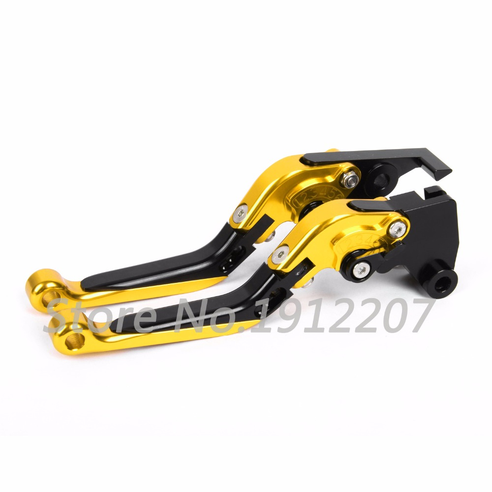 ФОТО For Suzuki GS500 1989-2008 Foldable Extendable Brake Clutch Levers Aluminum Alloy CNC Folding&Extending Levers Hot Sell 2007