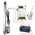 """Heavy Duty 14"""" 350mm Stroke Linear Actuator 1000N/220lbs Lift DC 12V Motor W/ Wireless Remote Controller for Nursing Bed Lifting"""