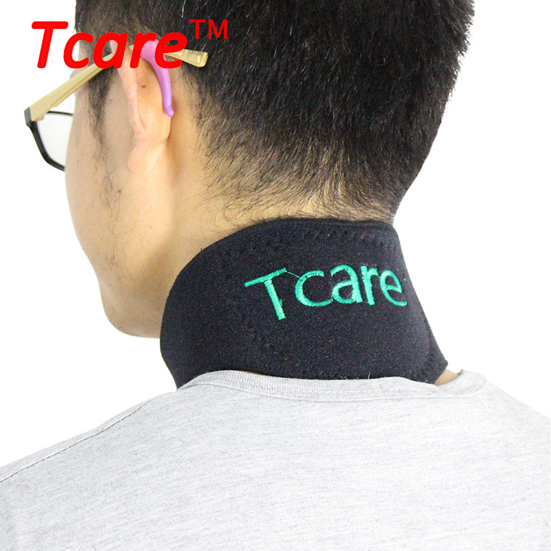 Tcare Tourmaline Magnetic Therapy Neck Brace Support Neck Massager Cervical Vertebra Protection Self Heating Tourmaline Belt