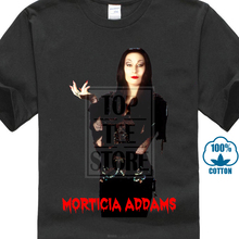 The Addams Family: Morticia V8 Movie Poster T Shirts White All Sizes S 4Xl