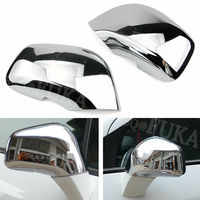 2pcs/Set Chrome ABS Car Side Mirror Rearview Cover Trim Cap Molding Car Styling For Buick Encore Opel Vauxhall Mokka 2012-2016