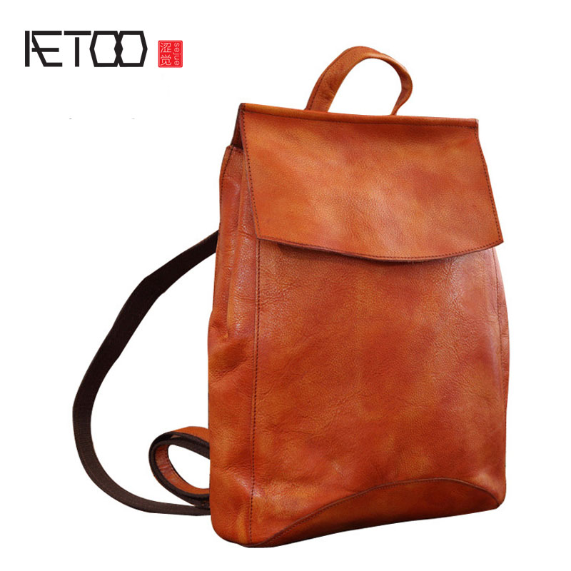 AETOO The new retro style women's leather shoulder bag head of the trend of women's leather fashion smc the new head of passing filter aff150a 40