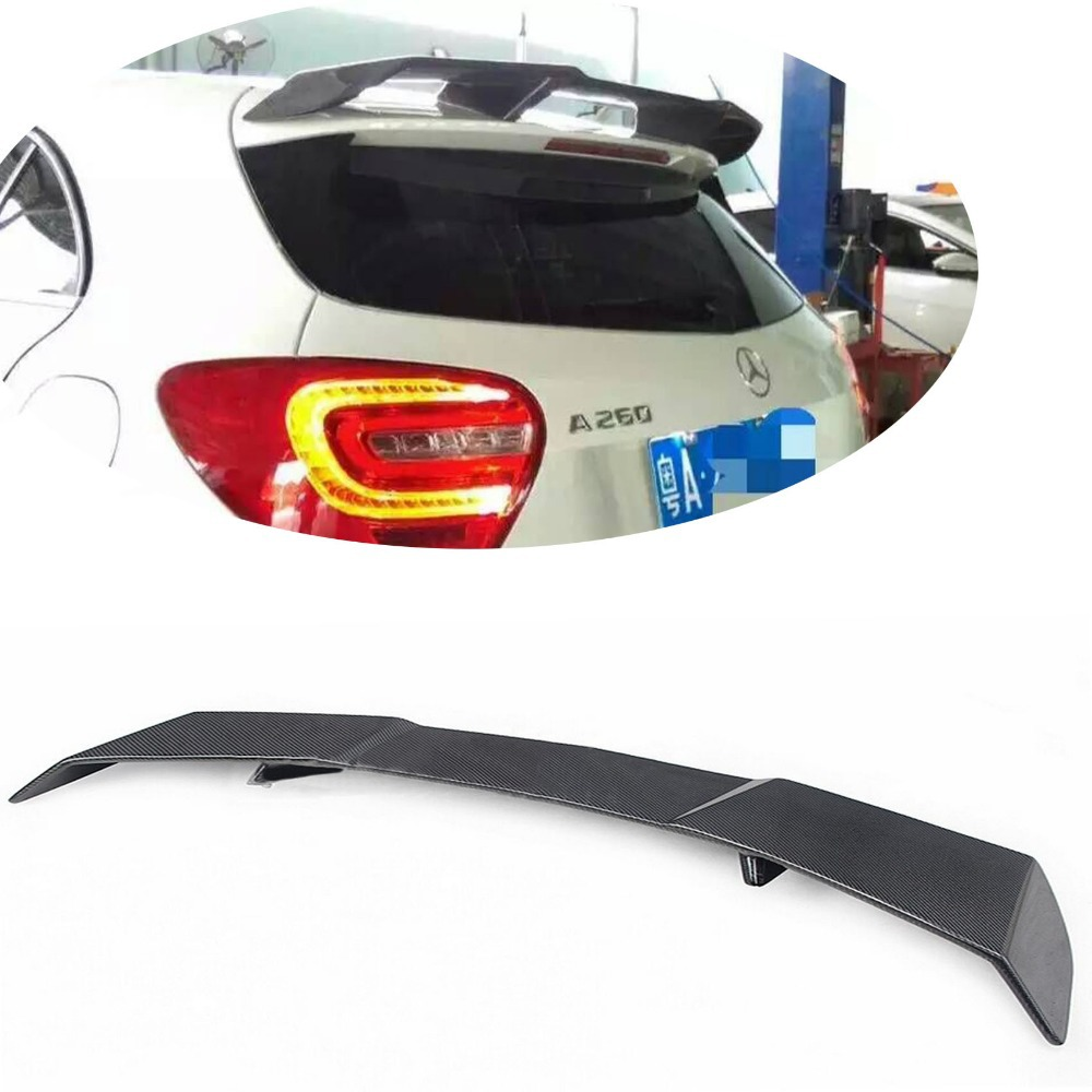 W176 A45 Carbon Fiber Roof Wing Lip spoiler Fit for Mercedes-Benz A-Klasse W176 A250 A260 A45 AMG 2014-2016