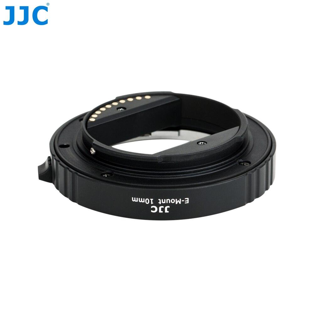 JJC AET-SES (II) 10mm et 16mm Tube d'extension automatique bague adaptateur de mise au point automatique convient à la photographie Macro pour Sony E Mount - 4