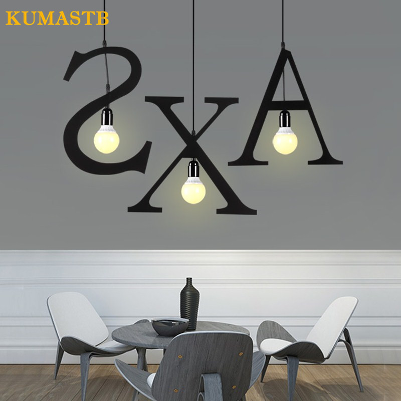 Diy Kitchen Light Fixtures Part 2: DIY Alphabet Shape Light Fixture Iron Letters Pendant