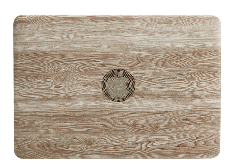 Classical Wood Grain Case for Macbook 38