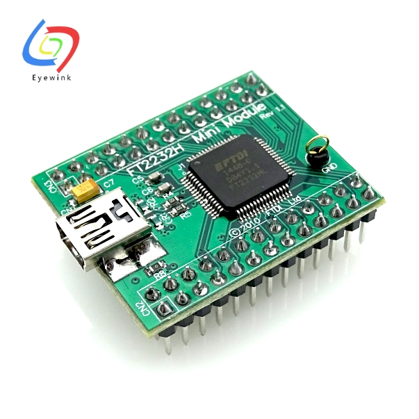 EYEWINK Smart Electronics FT2232H MINI MODULE factory development board core plate large spot Free Shipping