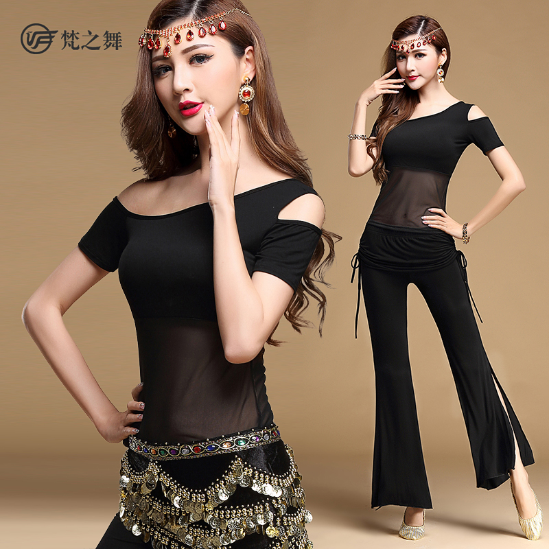 2018 New Belly Dance Costume Set Professional Bellydance Top+pants Suits For Women S431+k477