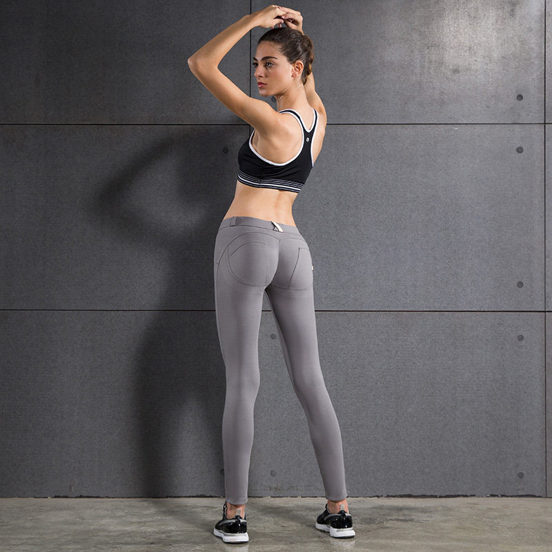 Hotnew Sexy Hips Push Up Yoga Pants Women Tights Sport -1644