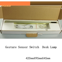 Newest LED Magic Gesture Sensor Switch Desk Lamp Student Study Reading Lamp Book Light Dimmable Closet