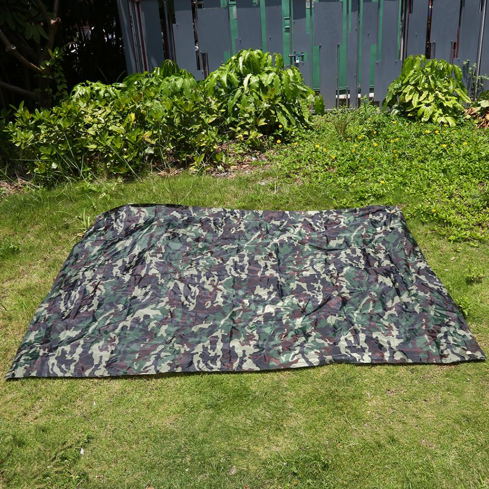 Multi Function Outdoor Camouflage Camping Tent Sun Shade
