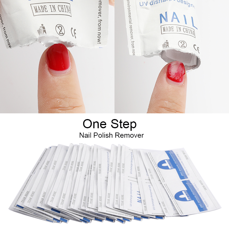 ROSALIND Degreaser Gel Nail Polish Remover Lint-Free Wipes 100Pcs napkins for Manicure cleanser Nail Art UV Gel polish Remover