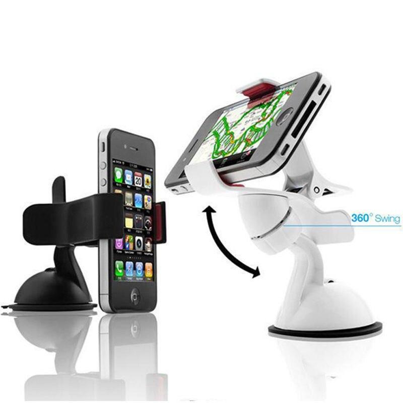 360 градусов вращающийся лобовое стекло автомобиля держатель Подставка для планшетных ПК мобильный телефон <font><b>GPS</b></font> D14