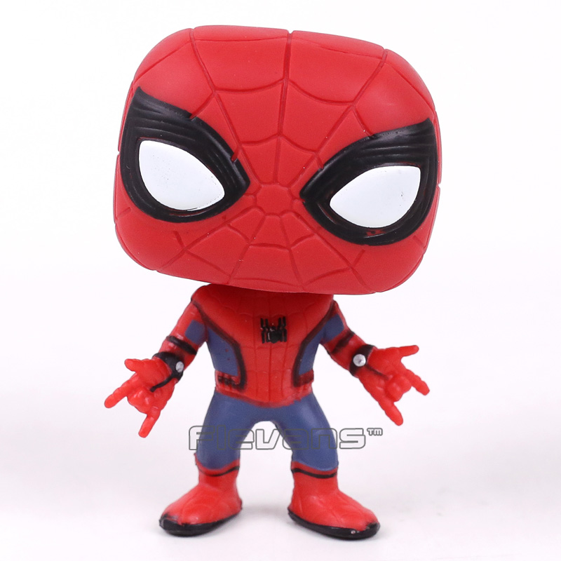 Spider Man Homecoming Spiderman Bobble Head Vinyl Figure Collectible Model Toy Doll