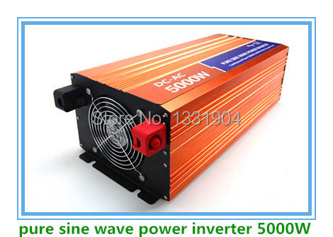 Free shipping DC24V to AC220V CE RoHs power inverter 5000W pure sine wave power inverters 5KV solar power inverter, car inverter 5000w dc 48v to ac 110v charger modified sine wave iverter ied digitai dispiay ce rohs china 5000 481g c ups