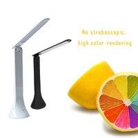 Tafellampen Vouwen Tafellamp Touch USB Oplaadbare Tafel Eye Desktop LED Tafellamp Hoge Kwaliteit-in Bureau lamp van Licht & verlichting op