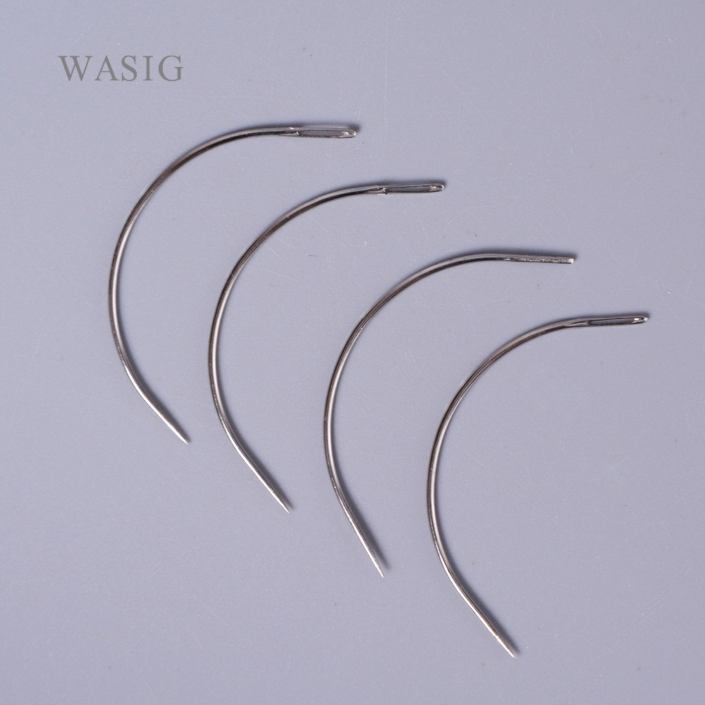 Hair Extensions & Wigs Angels 12pcs 6cm I Shape Straight Weft Weaving/sewing Needles For Diy Hair Extensions Brazilian Human Hair Weft Hair Tools Hook Needles