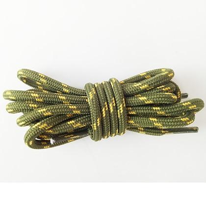 100-160 см спортивные круглые шнурки, 17 цветов, кроссовки, белые шнурки, спортивная обувь, шнурки, спортивная обувь, обувь для скейта, шнурки - Цвет: armygreen yellow