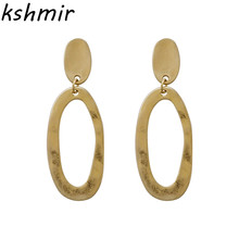 Kshmir Fashion earrings Exquisite fashion jewelry wholesale Geometry of the circular metal retro atmosphere