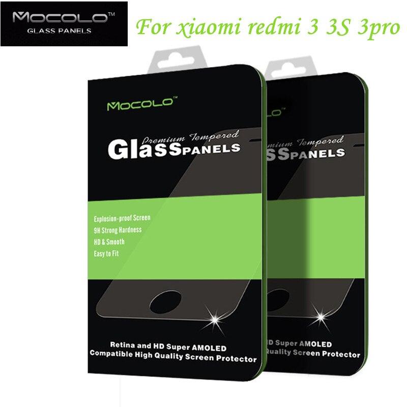0eec3a2e6c4 For Xiaomi Redmi 3 Pro Tempered Glass Screen Protector 0.33 mm ...